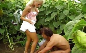 Hardcore anal outdoor sex