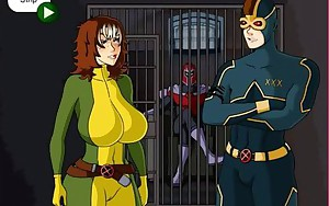 Mystique & Rogue wants lot of spunk flow (Xmen)