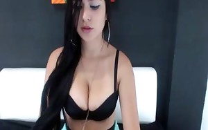 Latin hotty big booty teasing web camera