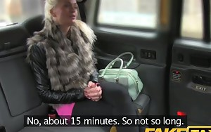 FakeTaxi Finland girl with breasts to die for