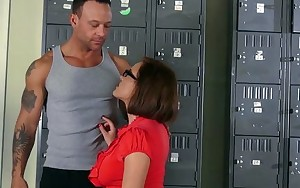 Naughty - Krissy Lynn takes a large load