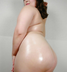 Hawt oriental large ass and fat ass babes