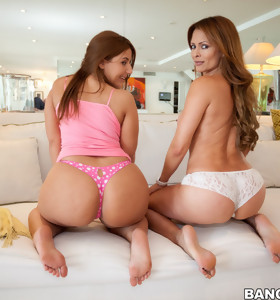 Monique Fuentes is like and aged fine wine and Lexi Lockhart is rockin and rolling with her giant love melons and ass which make watching her fuck extra special